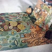 Carpet inspiration Klimt 2