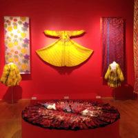Exhibition display at MassArt, Boston USA